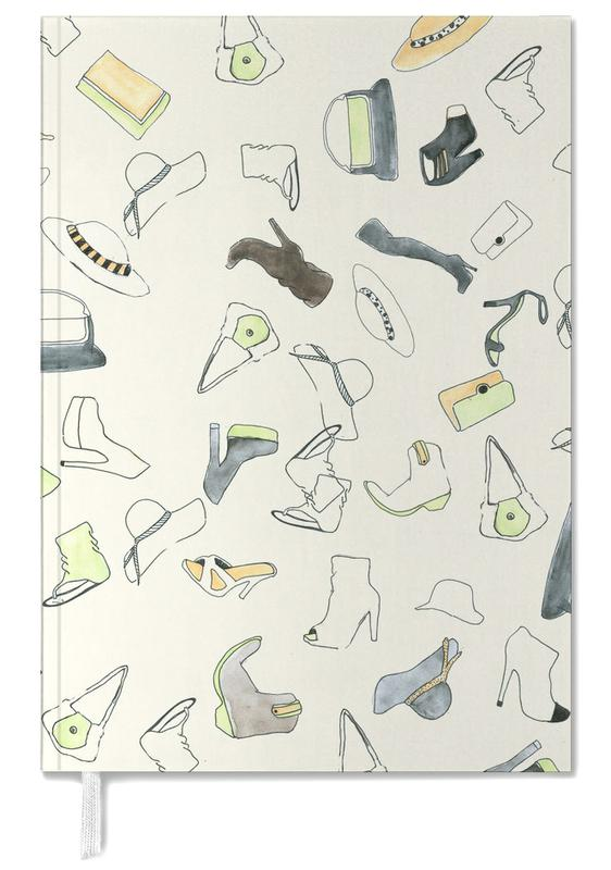 Illustrations de mode, Pattern: Shooz agenda