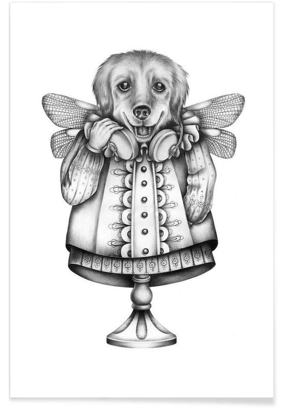 Noir & blanc, Créatures et hybrides, Dog affiche