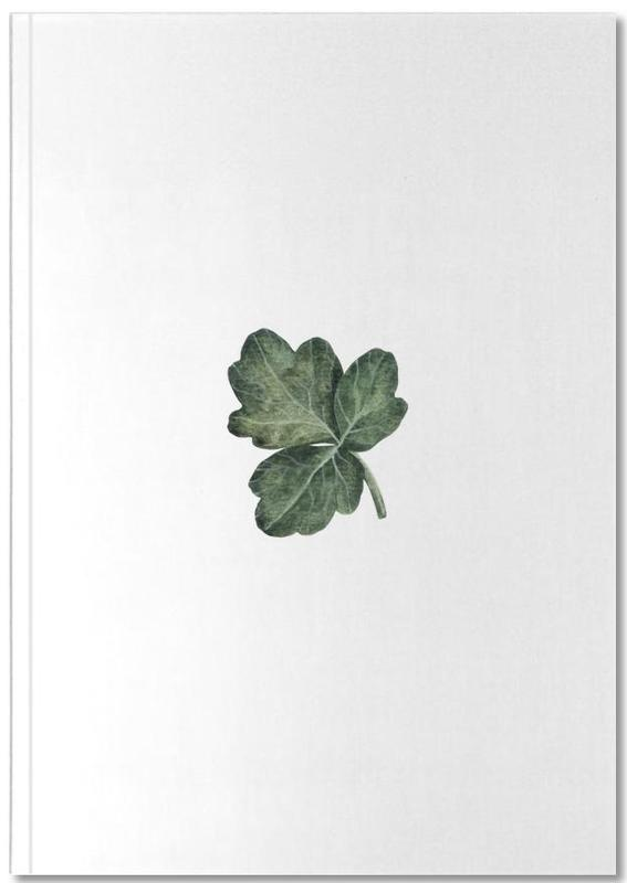 Leaves & Plants, Shamrock Notebook
