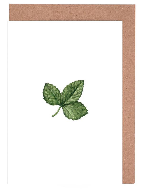 Strawberry Leaf -Grußkarten-Set