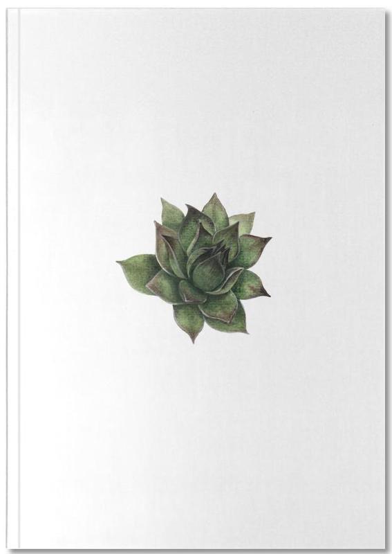 Leaves & Plants, Succulent 2 Notebook