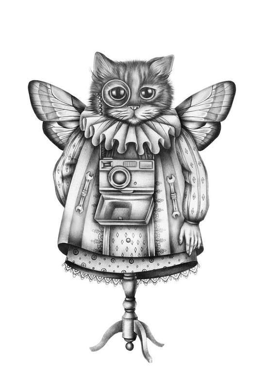 Cat Aluminium Print