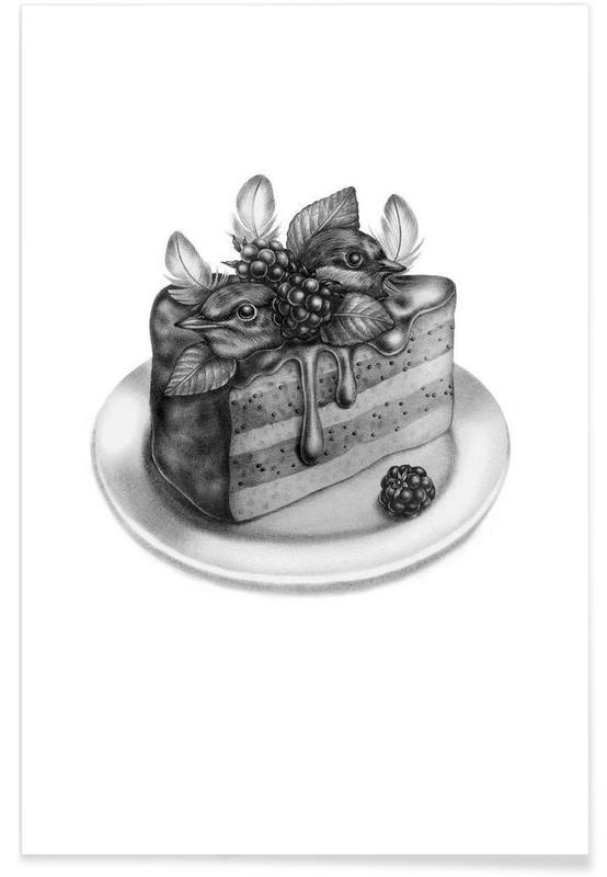 Gâteaux, Cake affiche