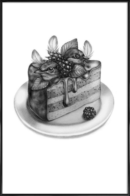 Cake Framed Poster