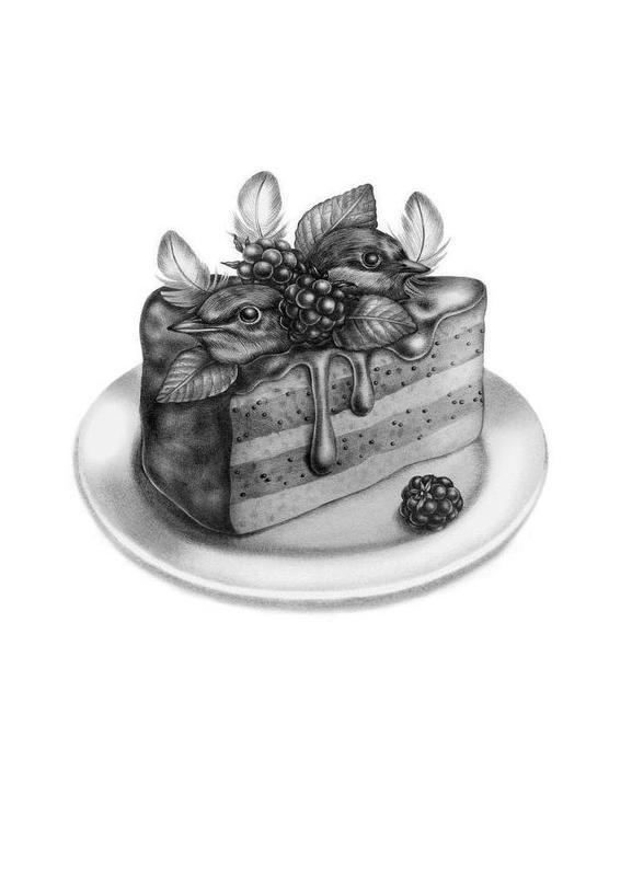 Cake -Leinwandbild