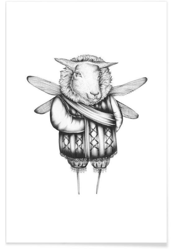 Noir & blanc, Créatures et hybrides, Sheep affiche