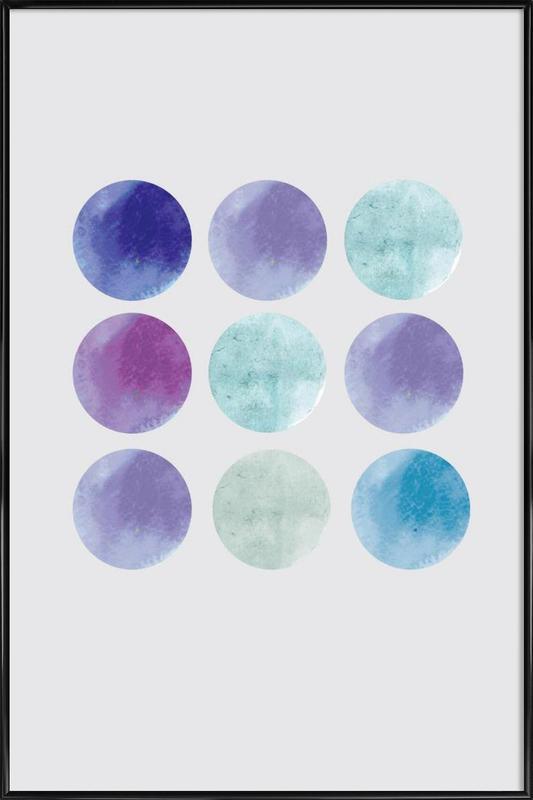 Dots Framed Poster