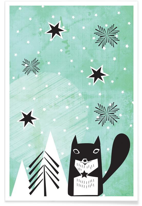 Kunst voor kinderen, Bring You a Star poster