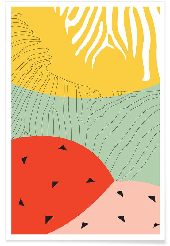 , Shiny Jungle poster