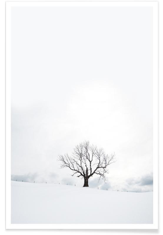 , Winter Tree poster
