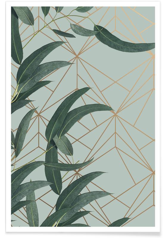 Bladeren en planten, Branches And Leaves poster