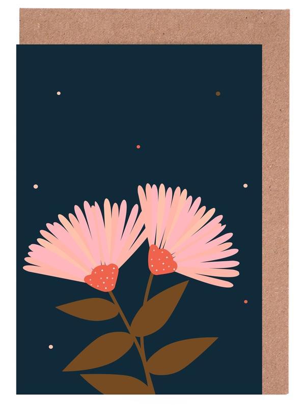 Kunst voor kinderen, Flowers In Love wenskaartenset