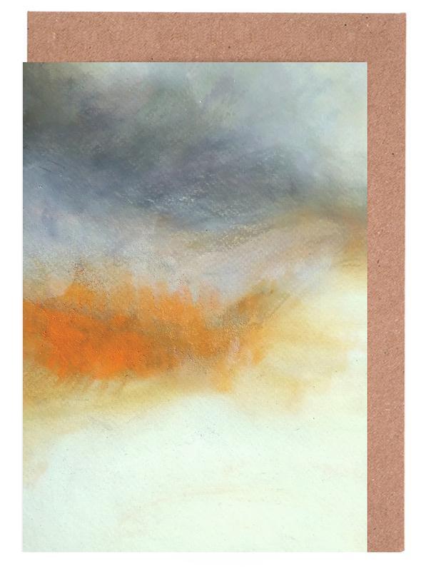 , Pastell Powder Colors wenskaartenset