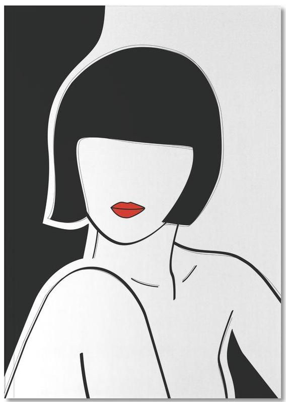 Portraits, Pop Art, Love Quotes, Secret Lady Notebook
