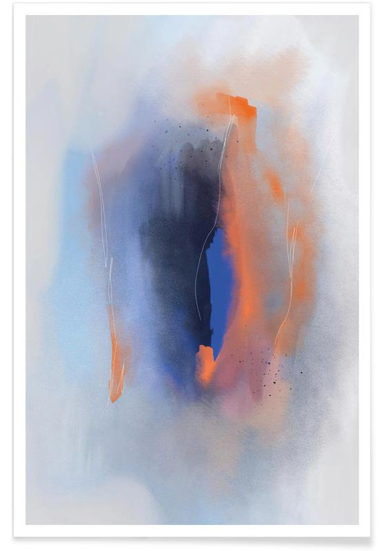 , Abstract Energy affiche