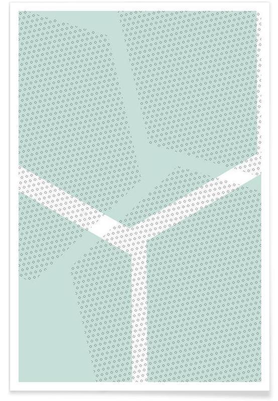 Oktogramme mint Poster