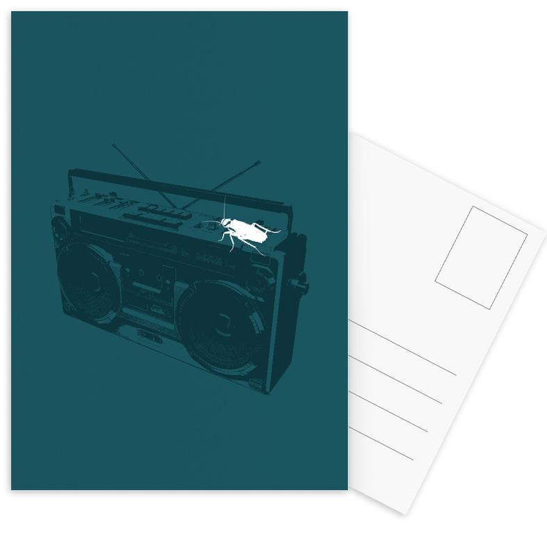 Oldskool 1 -Postkartenset