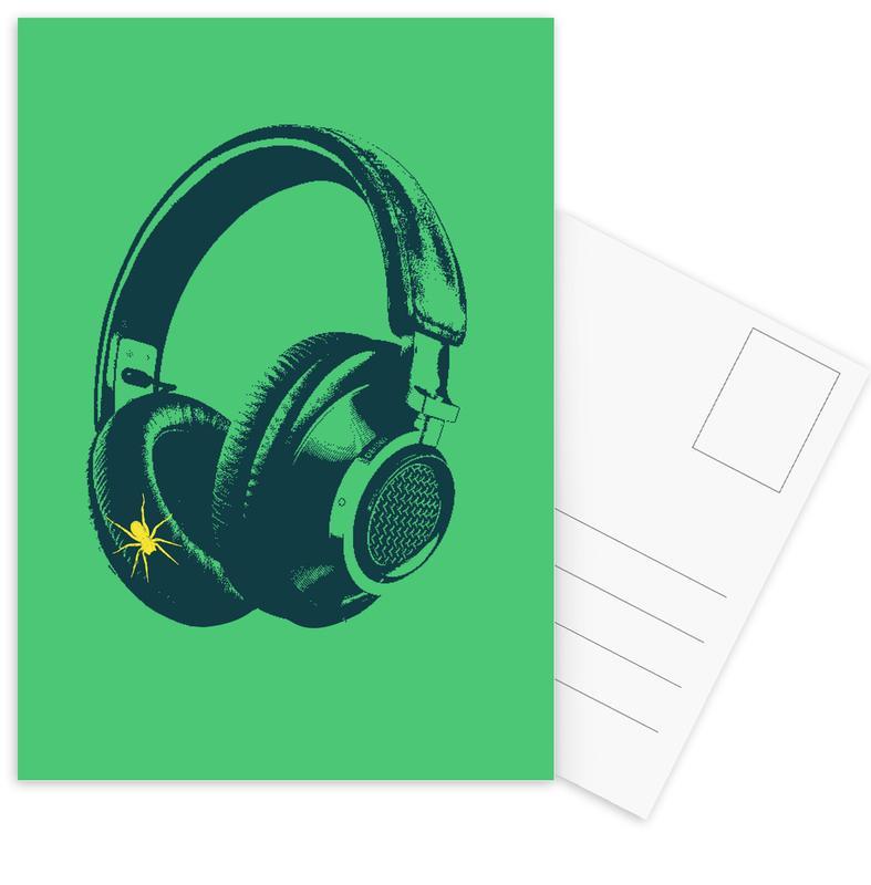 Singes, Pop Art, Oldskool 4 cartes postales