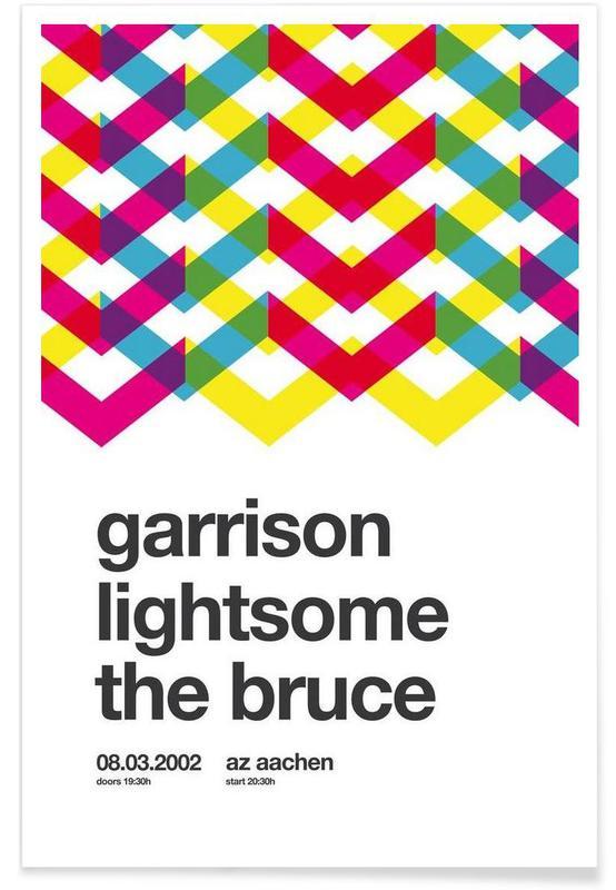 , Garrison affiche