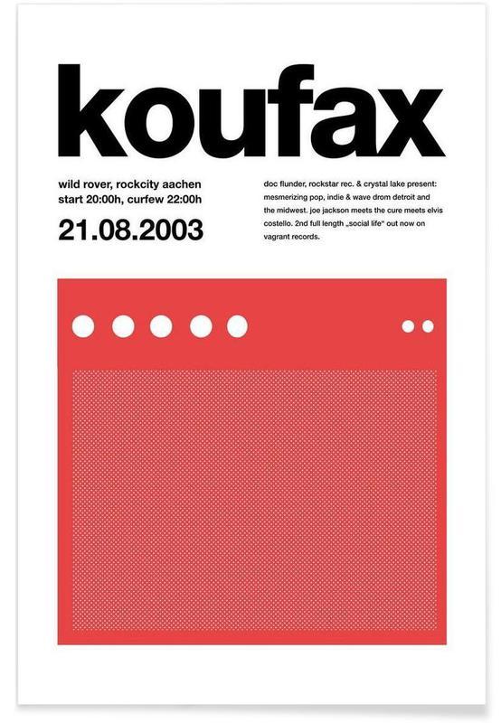 , Koufax affiche