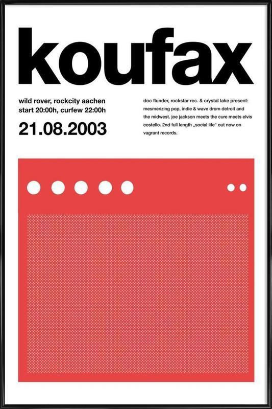 Koufax Framed Poster