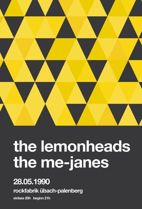 The Lemonheads Aluminium Print