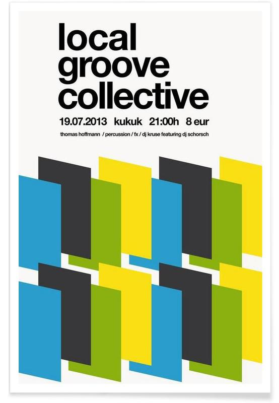 Local Groove Collective -Poster