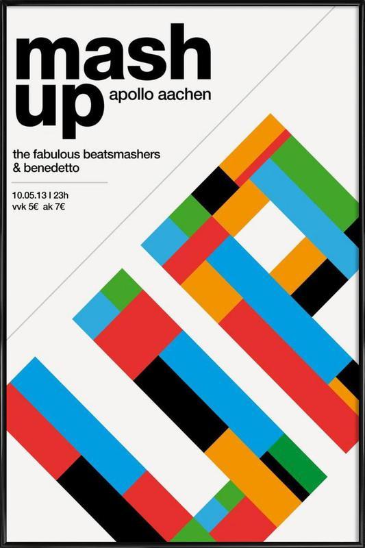 Mashup Party Framed Poster