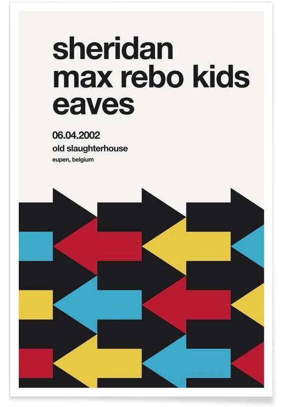 Max Rebo Kids -Poster