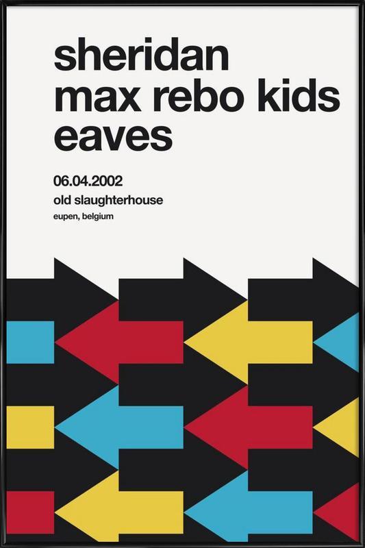 Max Rebo Kids Framed Poster