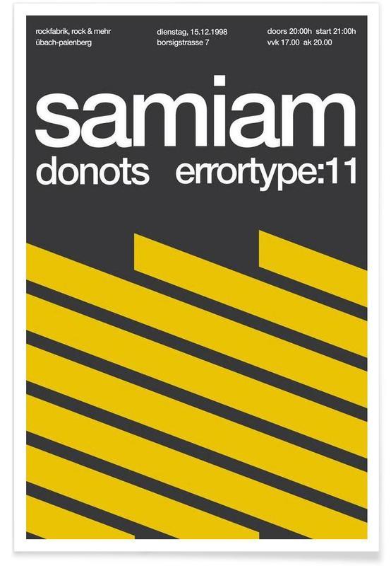 , Samiam / Donots affiche