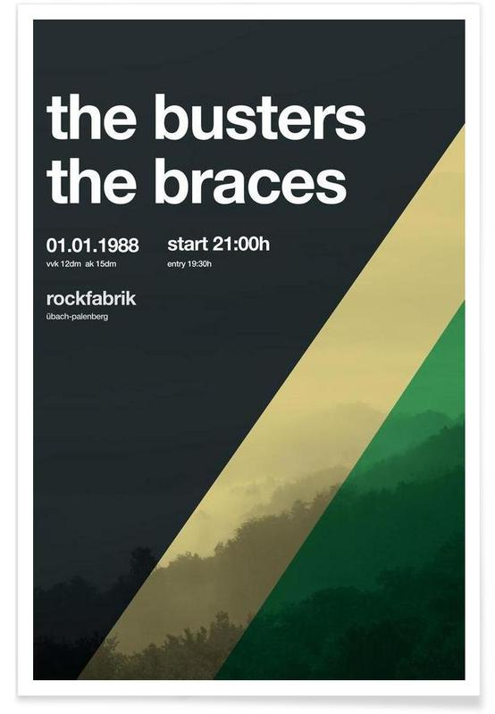 , The Busters affiche