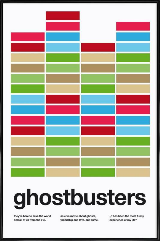 Ghostbusters Framed Poster