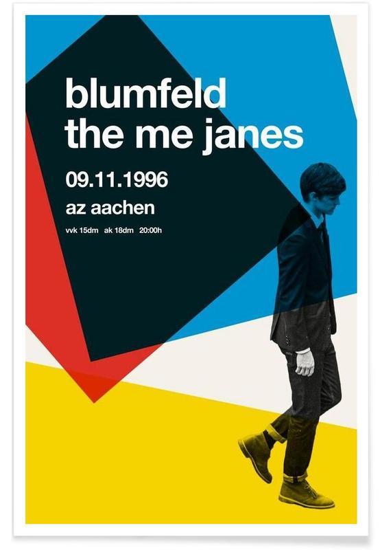 , Blumfeld affiche