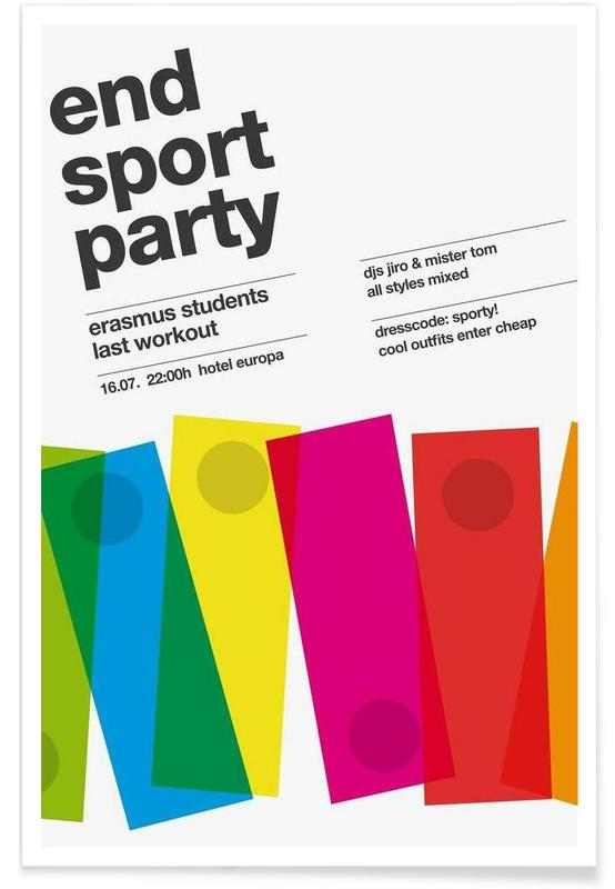 Endsport Party poster