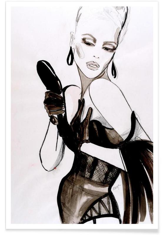 Illustrations de mode, Vanity affiche