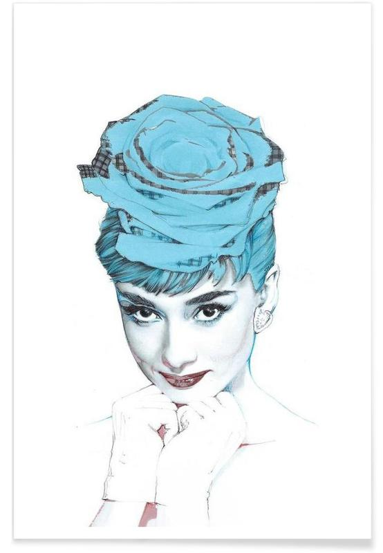 Audrey Hepburn, Audrey affiche