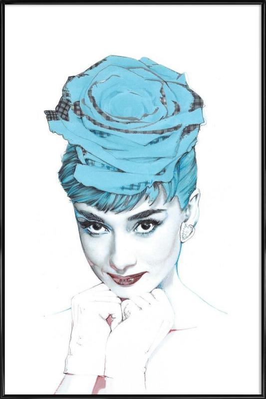 Audrey Framed Poster