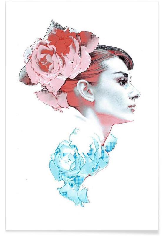 Audrey Hepburn, Roser, Audrey II Plakat