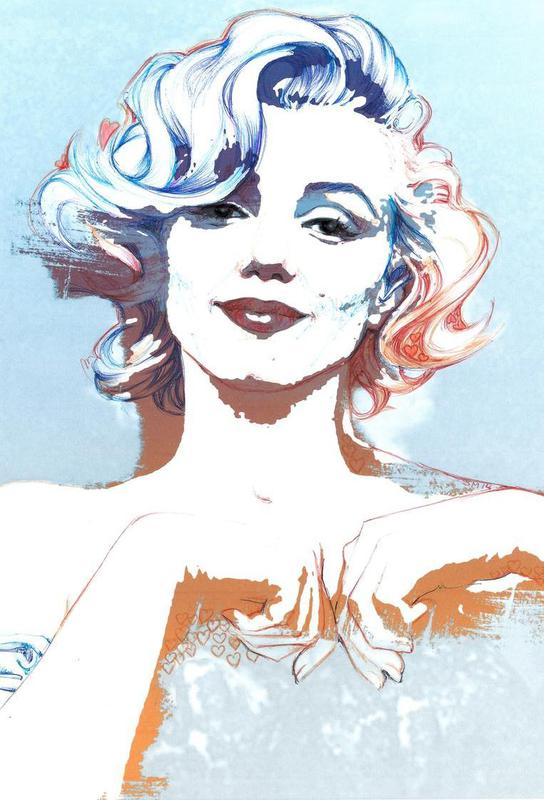 Marilyn Aluminium Print