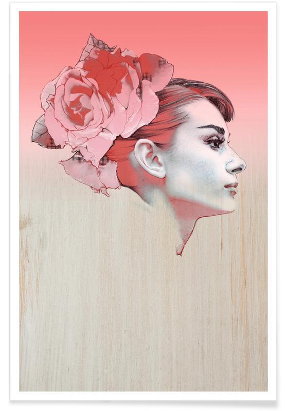 Rozen, Audrey Hepburn, Audrey III poster