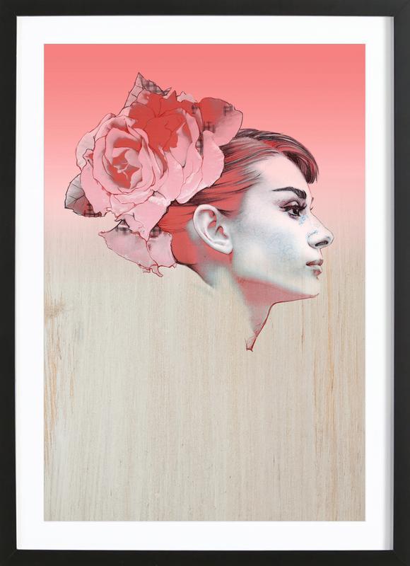 Audrey III Framed Print