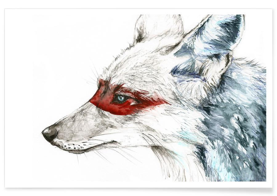 Loups, Coyote affiche