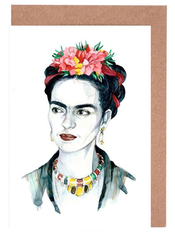 Frida Kahlo Greeting Card Set