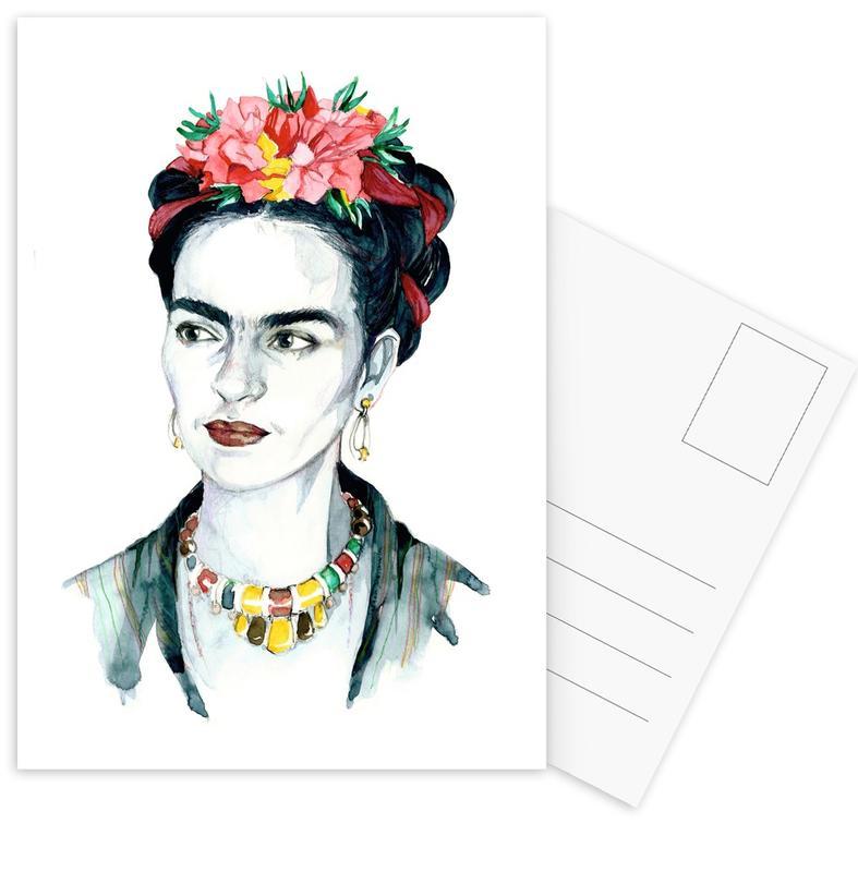 Frida Kahlo Postcard Set
