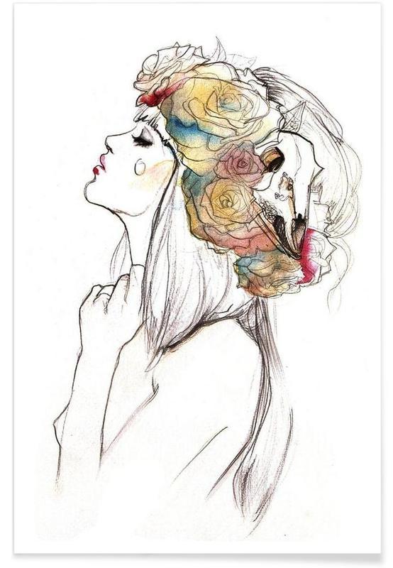 , Flowered affiche