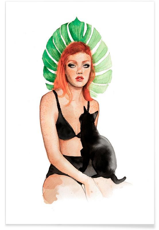 Black Cat -Poster