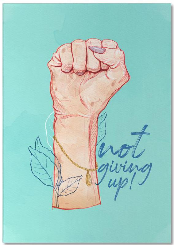 Not Giving Up Notepad