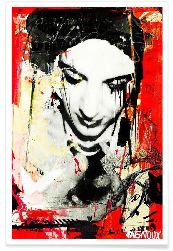 Street Art, And Myself affiche