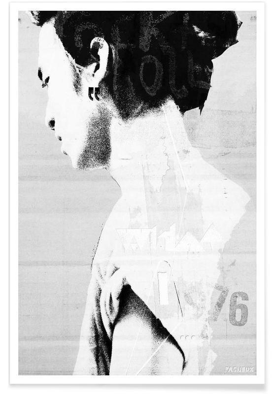 Black & White, Float Poster